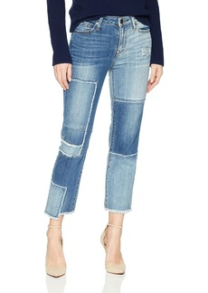 True Religion Women's High Rise Stove Pip Jean
