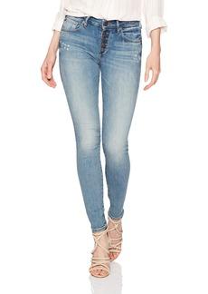 True Religion Women's Jennie Mid Rise Curvy Skinny Jean