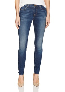 True Religion Women's Jennie Mid Rise Curvy Skinny Jean Twisted Seam