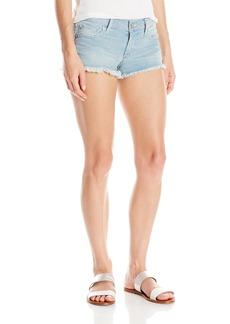True Religion Women's Joey Cut Off Jean Shorts in
