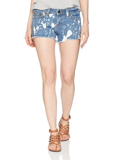 True Religion Women's Keira Midrise Cut Off Short