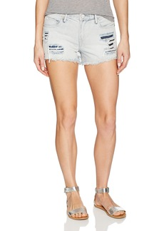 True Religion Women's Kori High Rise Cut Off Short