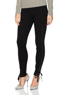 True Religion Women's Lace up Legging  M