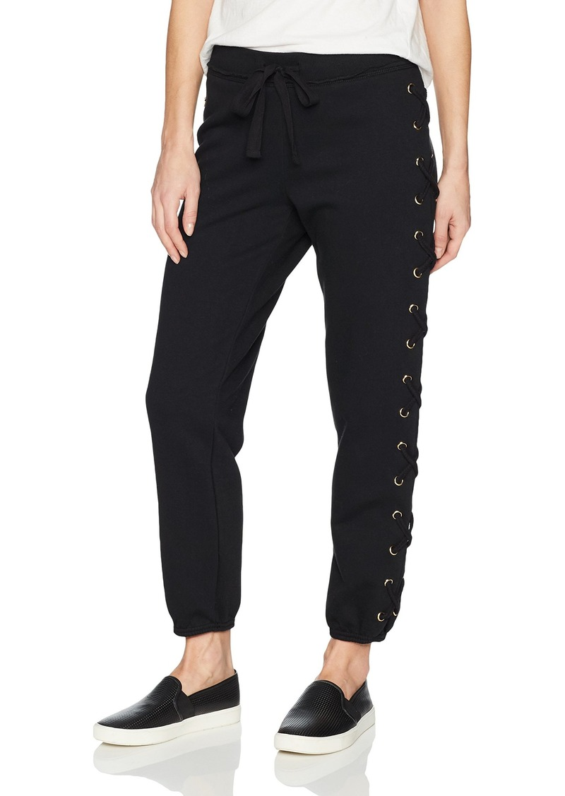 True Religion Women's Lace Up Sweatpant  XS