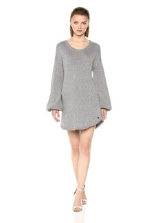 True Religion Women's Metallic Thread Sweater Dress  XS