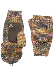 True Religion Women's Multi Colored Knit Mittens