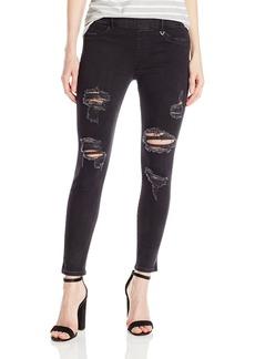 True Religion Women's Runway Pull on Legging Crop Jean
