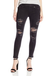 True Religion Women's Runway Pull on Legging Crop Jean