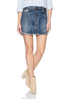 True Religion Women's Steph Hem Mini Skirt  24