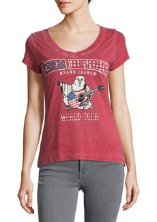 True Religion World Tour American Flag Graphic Tee