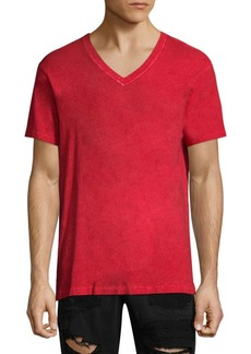 True Religion V-Neck Cotton Tee
