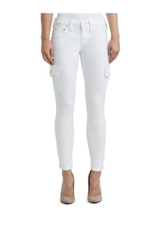 True Religion WOMENS CARGO SUPER SKINNY JEAN