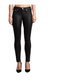 True Religion WOMENS COATED HALLE SUPER SKINNY JE