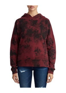 True Religion WOMENS CRAFTED PRINT PULLOVER HOODI