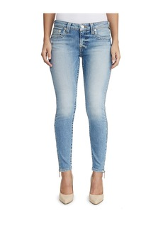 True Religion WOMENS FULL ZIP ANKLE SUPER SKINNY