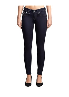True Religion WOMENS HALLE SUPER SKINNY JEAN W/ F