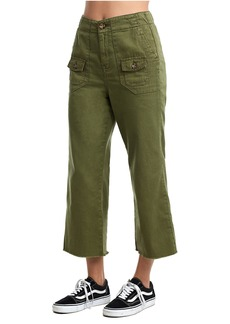 True Religion WOMENS HIGH RISE UTILITY CULOTTE PA