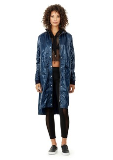True Religion WOMENS HOODED TRENCH
