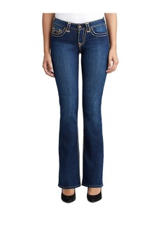 True Religion WOMENS MULTI SUPER T BECCA BOOTCUT