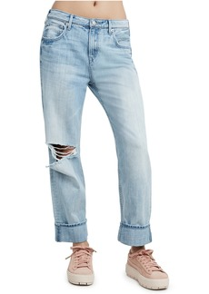 True Religion WOMENS RELAXED STRAIGHT JEAN