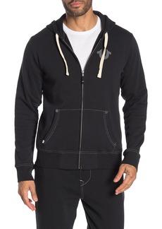 True Religion Zip Front Hoodie