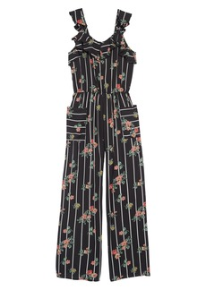 Truly Me Floral Jumpsuit (Big Girl)