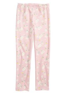 Truly Me Floral Print Leggings (Toddler Girls & Little Girls)