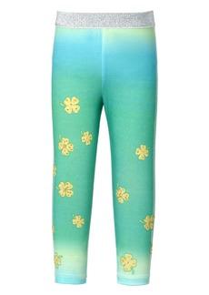 Truly Me Kids' Embellished Clover Ombré Leggings (Toddler & Little Girl)
