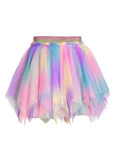 Truly Me Kids' Handkerchief Hem Tutu Skirt (Little Girl & Toddler)