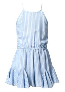 Truly Me Kids' Stripe Fit & Flare Romper (Big Girl)