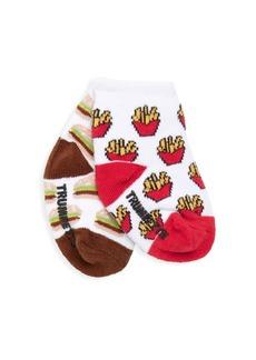 Trumpette Kid's Hamburger & Fries Socks