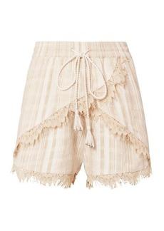 TRYB212 Lea Lace Trim Shorts