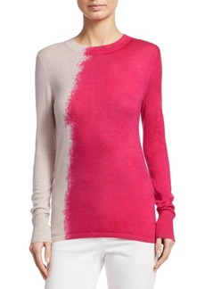 TSE Colorblock Cashmere Sweater