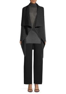 TSE Draped Cashmere Vest