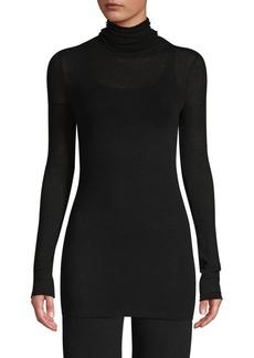 TSE Longline Turtleneck Sweater