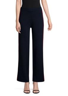 TSE Side Stripe Knit Cashmere Pants