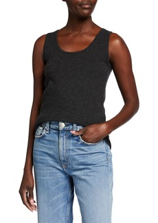 TSE Solid Recycled Cashmere Tank