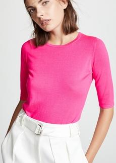 TSE Cashmere 3/4 Sleeve Cashmere Sweater