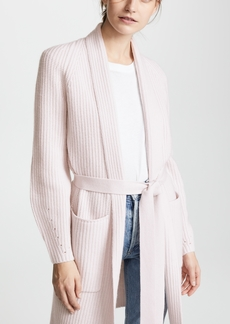 TSE Cashmere Cashmere Cardigan Coat with Belt