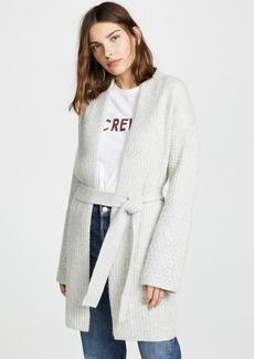 TSE Cashmere Cashmere Sweater Coat with Belt