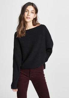 TSE Cashmere Circular Ribbed Sweater