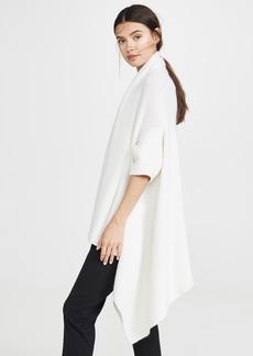TSE Cashmere Draped Cashmere Blanket Vest
