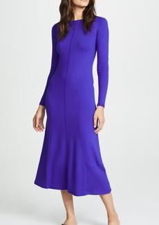 TSE Cashmere Long Sleeve Midi Dress