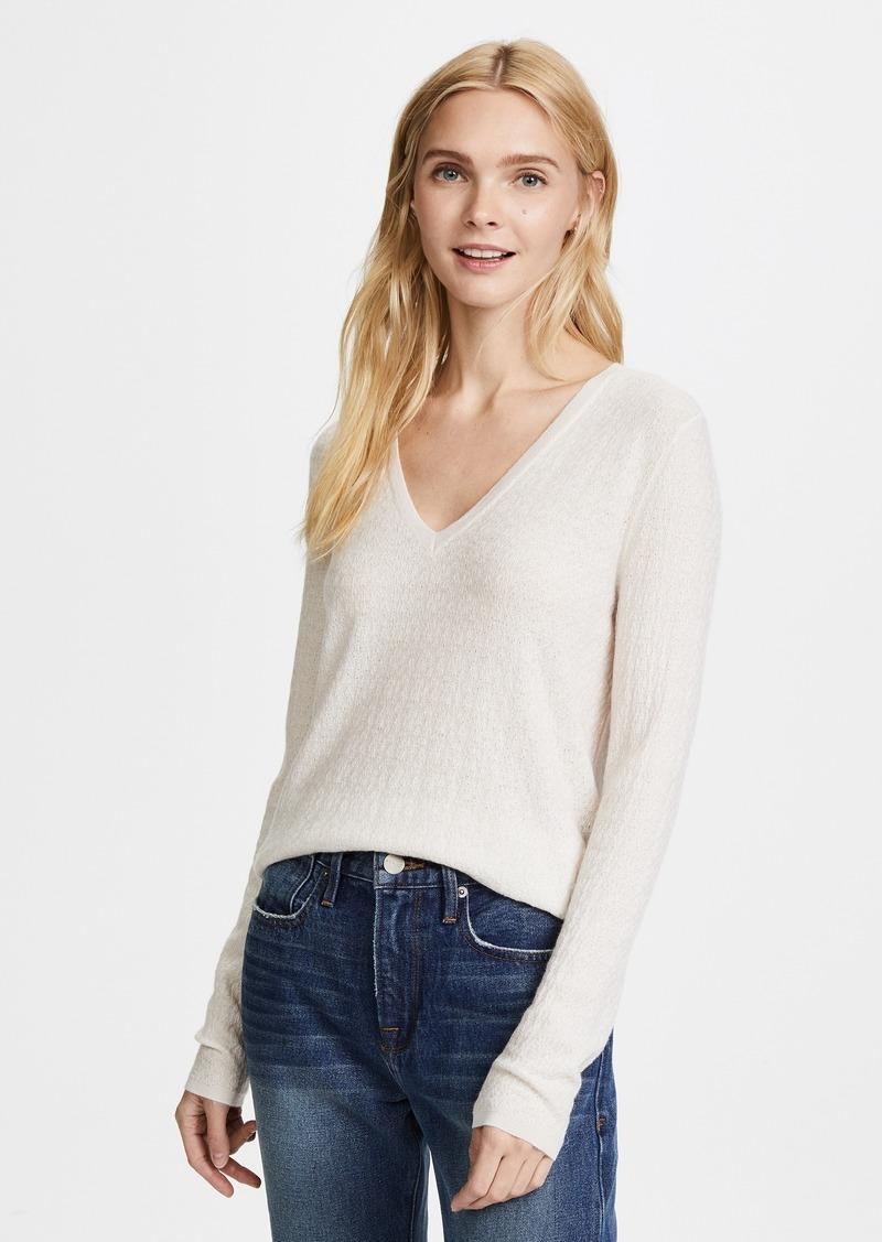 e87ce743ce TSE TSE Cashmere Long Sleeve V Sweater