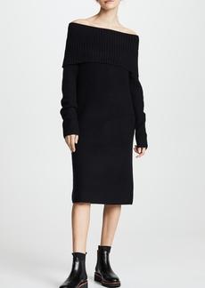 TSE Cashmere OTS Sweater Dress