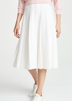 TSE Cashmere Pleated Midi Skirt