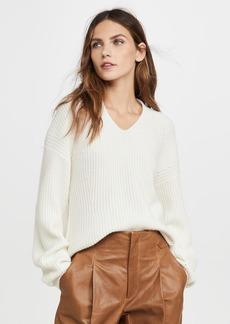 TSE Cashmere Shaped Ribbed Cashmere Sweater