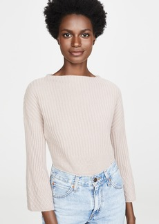 TSE Cashmere Stepped Rib Sweater