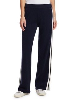 TSE Athletic Cashmere Striped Pants