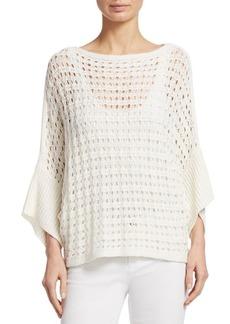 TSE Box Stitch Knit Linen Tunic